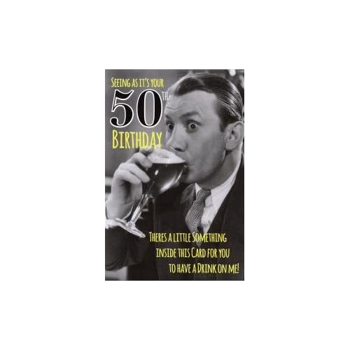 Funny 50th Birthday Cards: Amazon.co.uk