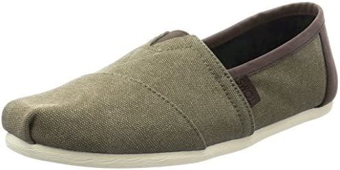 premium selection 7e52b 350e3 TOMS Canvas Classics, Men's Shoes, Multicolour (Olive), 8 UK ...