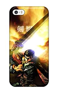 For ZippyDoritEduard Iphone Protective Case, High Quality For Iphone 5/5s Berserk Skin Case Cover