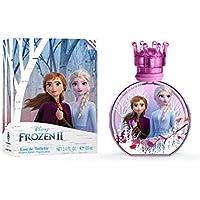 Air-Val Frozen 2 Eau De Toilette Perfume For Children + Charm, 100 ml