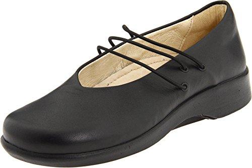 Arcopedico Women's Rose Flat Shoes,Black Aniline,38 M (Arcopedico Leather Mary Janes)