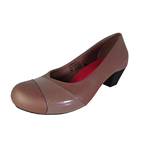 Crocs Womens Gianna Heel Kitten Pump Shoes, Bronze/Bronze, US 11
