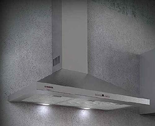 Campana decorativa piramidal Nodor (8562) SCALA 60 INOX: Amazon.es: Grandes electrodomésticos