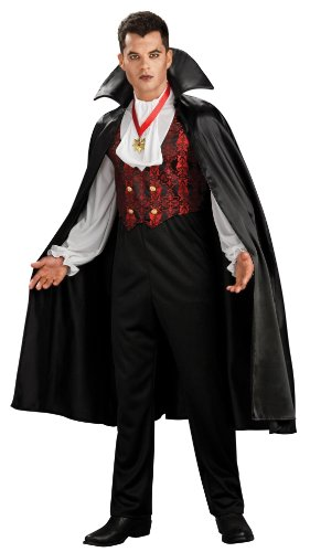 Adult Transylvania Vampire Costumes (Rubie's Costume Co. Men's Transylvania Vampire Costume, As Shown, Standard)