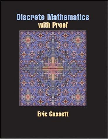 Discrete math with proof eric gossett 9780130669483 amazon books fandeluxe Image collections