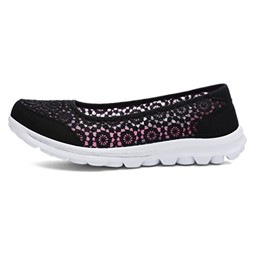 Respirant Running 35 Mode De Noir Baskets Sneakers 41 Chaussures Jrenok Filet Antidérapantes Confortable Femmes IwCHqnv