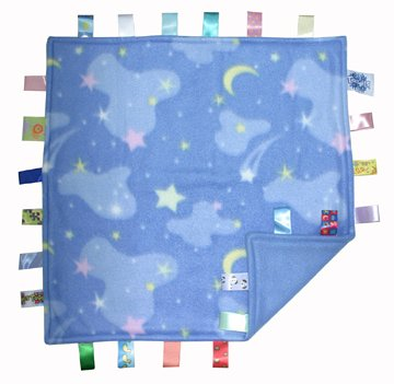Big Taggie Blanket - Starry Night 18x18