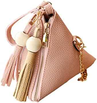 Adagod Women Candy Cion Bag Shoulder Small Backpack Round Buckle Square Phone Bag
