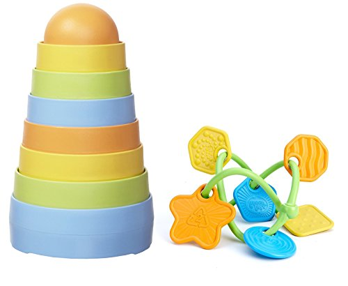 Green Toys First Stacker Teether product image