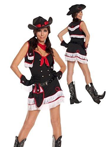 Dirty Desperado Costume - Small - Dress Size 2-6