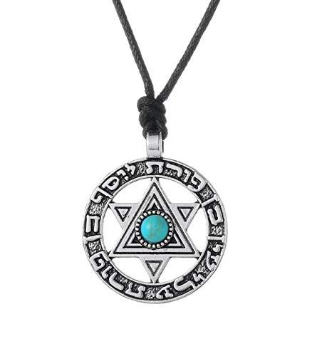 Inveroo Estrella De David Colgante Joyería Judía Vintage Hebreo ...
