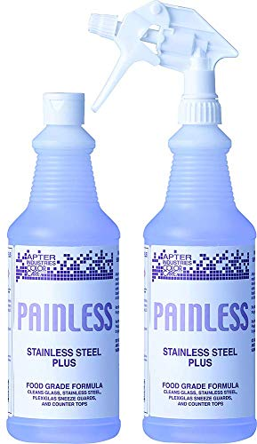 Apter Industries 13-PAIN-2/32 Painless Stainless Steel Cleaner Polish (Pack of 2) by Apter Industries