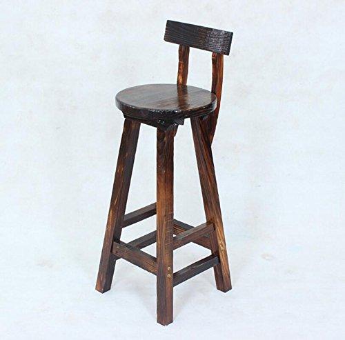 Coffee shop, KTV, carbonized bar high stool / retro bar stool, simple fashion by Xin-stool