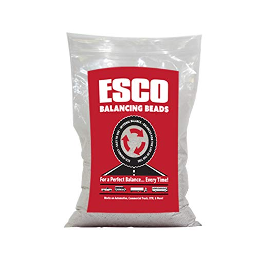 (ESCO 20470C Tire Balancing Beads, 6 oz, Case of 24 Bags)