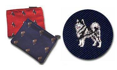 Alaskan Malamute Cosmetic Bag (Dog Breed Make-up Case)