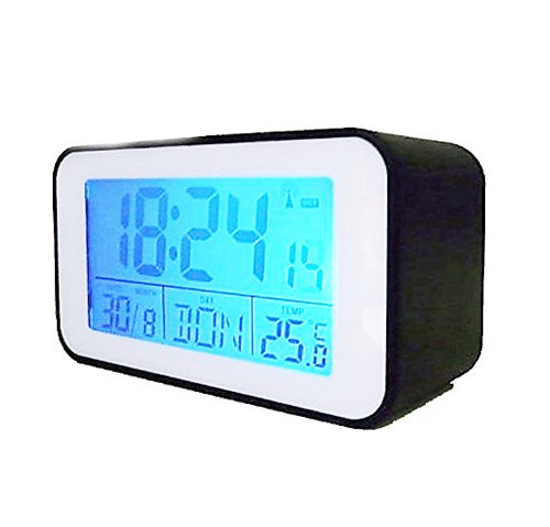 Alarm Clock with Thermometer - Radio-Controlled by DELIAWINTERFEL