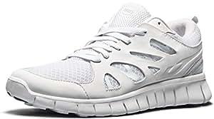 TF-E621-WHT_Men 7 D(M) Tesla Men's Lightweight Sports Running Shoe E621 / E630 (Recommend 1 size up)
