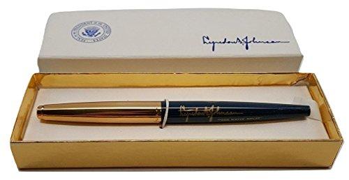 Lyndon Johnson White House Signature Parker Eversharp Gift Pen