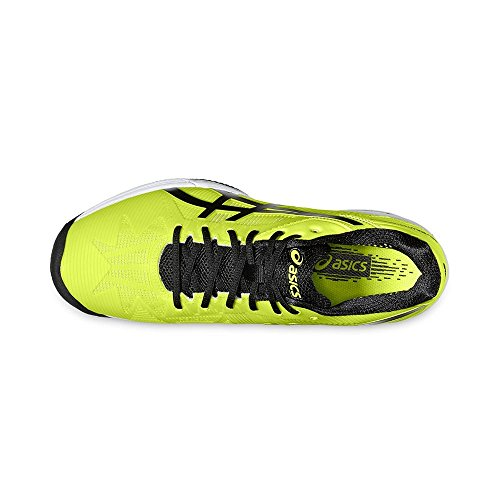 Asics Gel Solution Speed 3 Clay Uomo Scarpe da Tennis - Safety Yellow/Black/White