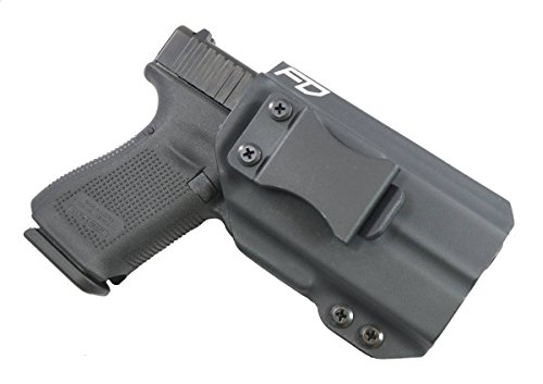 Fierce Defender Compatible with  Surefire XC-1 compatible Glock 19 23 32 IWB Kydex Holster