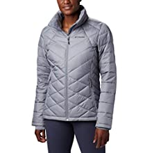 Columbia Women's Heavenly Jacket, Tradewinds Grey, Large