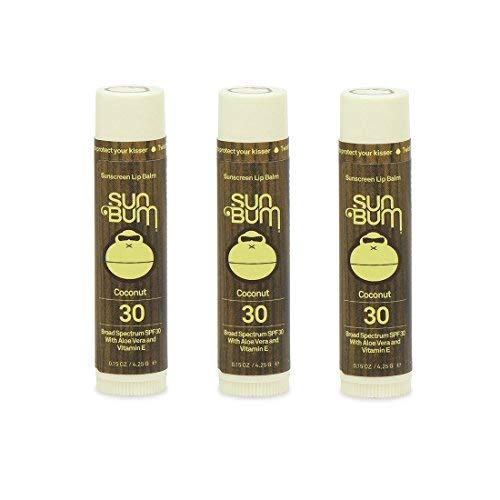 Sun Bum ''Triple Threat'' 3-Pack Lip Balm (3 Pack - Coconut ) by Sun Bum