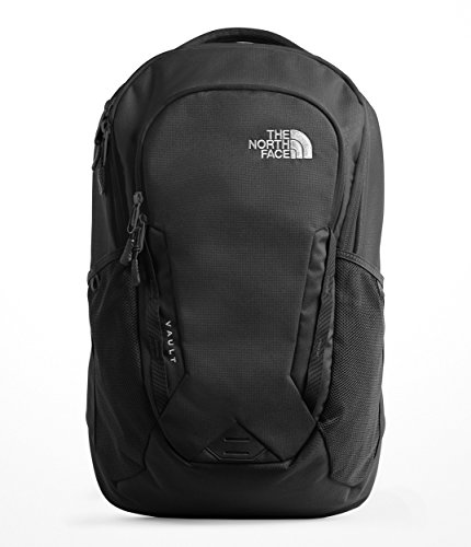 The North Face Unisex Vault Backpack Tnf Black 1 One - Inch Pull 7 Back