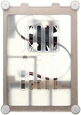 Yangxz Arduino Compatible, Caja de Caja de acrílico Colorida con ...