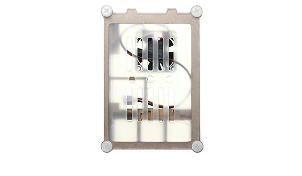 Carcasa de acrílico con Ventilador de refrigeración para ...