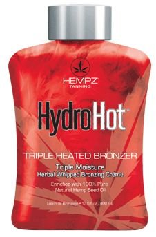 Hempz Hydro Hot Triple Heated Bronzer Tanning Lotion
