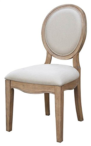 Oval Back Side Chair - Set of 2