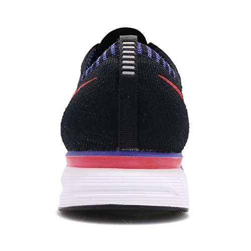 Nike Uomo Trainer Flyknit, Nero / Sirena Rosso-bianco, 9 M Us