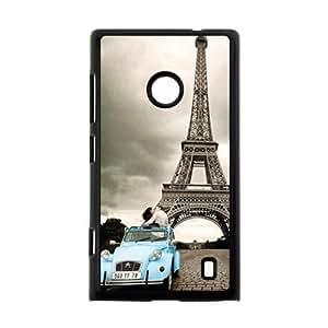Canting_Good Life Sweetly Vintage Paris France Paris Eiffel Custom Case Shell Skin for Nokia Lumia 520