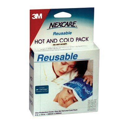 3M 4 3/4'' X 10 1/2'' Blue Nexcare Reusable Cover For Nexcare 1570 Cold or Hot Pack (100 Per Box) by 3M