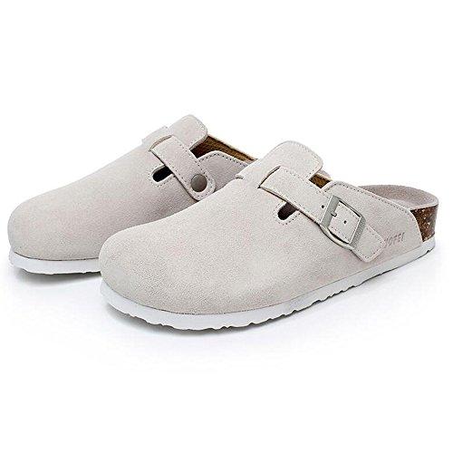 5 Sandali Pantofole Donna 8 Ciabatte Scarpe Eu41 uk7 cn42 Le colore Sughero Casual 5 Haizhen Donne Da E Per Colori Piatte Uomo Dimensioni Con 1002 1002 vqBnqrtw