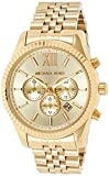 Michael Kors Lexington Gold-Tone Stainless Steel Watch MK8281: more info