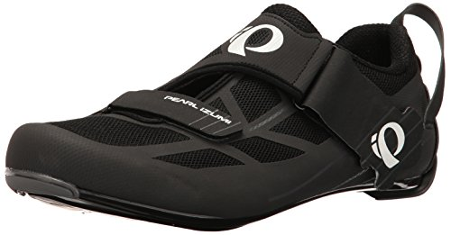 Pearl Izumi Men's Tri Fly Select V6 Cycling Shoe, Black/Shadow Grey, 44 EU/10 D US