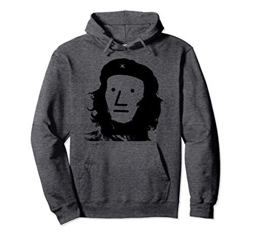 Che Face Guevara - NPC meme Che Guevara Gray Face Hoodie
