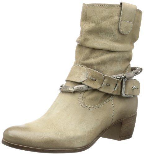 Mjus 112202 - Biker Boots de cuero mujer beige - Beige (SASSO)