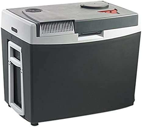 port USB Norme FR, 34L Classe /énerg/étique A++ 18/°C en dessous de la temp/érature ambiante MOBICOOL G35ACDC Glaci/ère /électrique portable grise 12//230V chauffage jusqu/à 65/°C p240xh445xl350mm