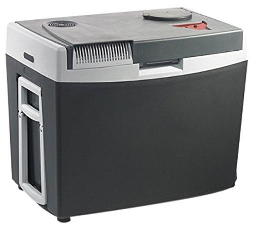 MOBICOOL G35ACDC Glacière électrique portable grise, 34L, 12/230V, 18°C en dessous de la température ambiante, chauffage jusqu'à 65°C p240xh445xl350mm, port USB, Norme FR, [Classe énergétique A++] 910533019