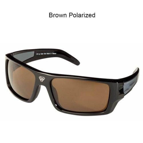 Solar Bat - Larry Nixon (Black, Brown Polarized) ()