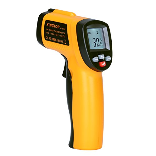 Digital Infrared Thermometer KingTop Non-contact Laser IR Temperature Gun,-58°F to 1022°F