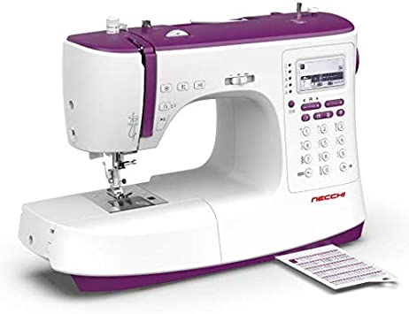 Necchi NC-204D - Máquina de coser computarizada + mesa ext: Amazon ...