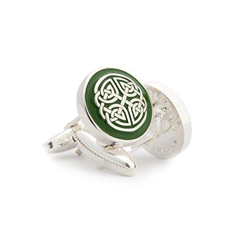 Celtic Sheild Men's Cufflinks by Wimbledon Cufflink Company
