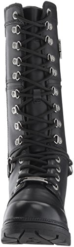 Harley Davidson Womens Harland Leather Boots Black clearance big discount Vrpc5