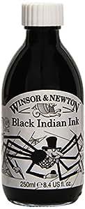 Winsor & Newton - Bote de goma laca (250 ml, color negro)
