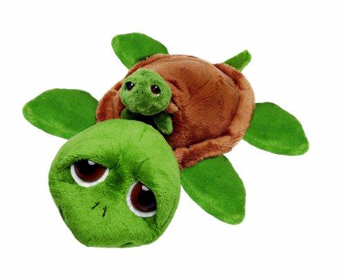 Suki Plüschtier Schildkröte Rocky mit Baby, Kuscheltier ca. 25 cm