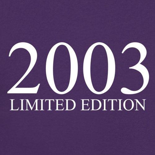 2003 Limierte Auflage / Limited Edition - 14. Geburtstag - Damen T-Shirt - Lila - L