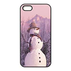 Customized case Of Snowman Hard Case for iPhone 5,5S by ruishername